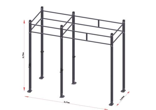 PRO Workout Rig 300 cm Short Version