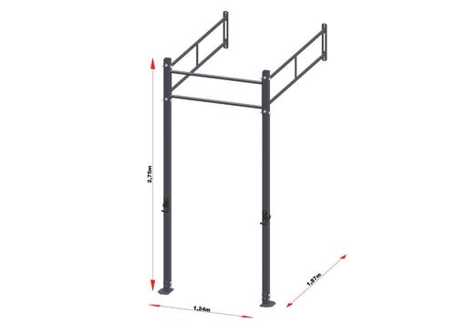 PRO Workout Rig Wallmount 120 cm