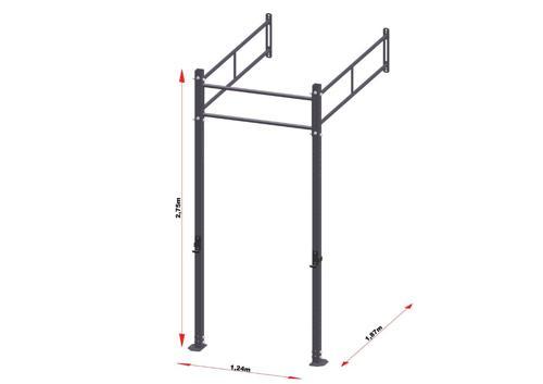 PRO Workout Rig Wandbevestigd 120 cm
