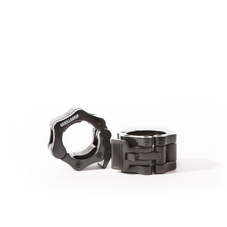 GorillaGrip Quick Lock Collar Set Zwart