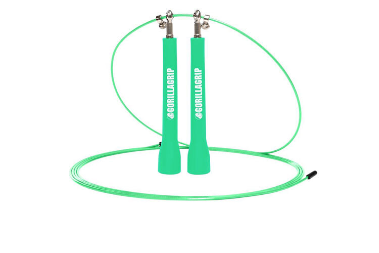 PVC Speed Jump Rope Green