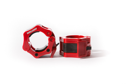 GorillaGrip Plastic Quick Lock Collar Red