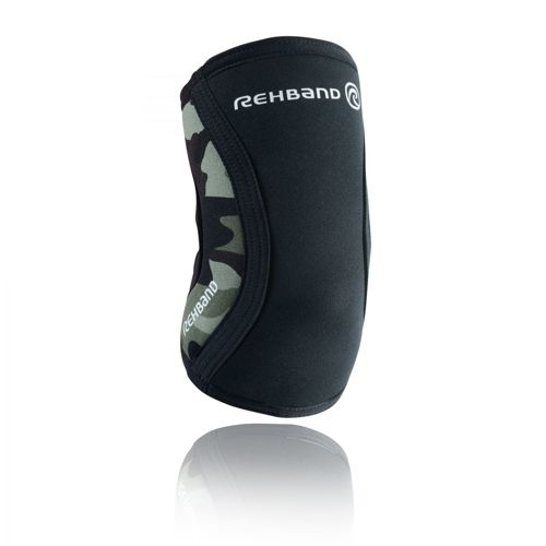 Rehband RX 5mm Elbow Brace zwart/camo Size S