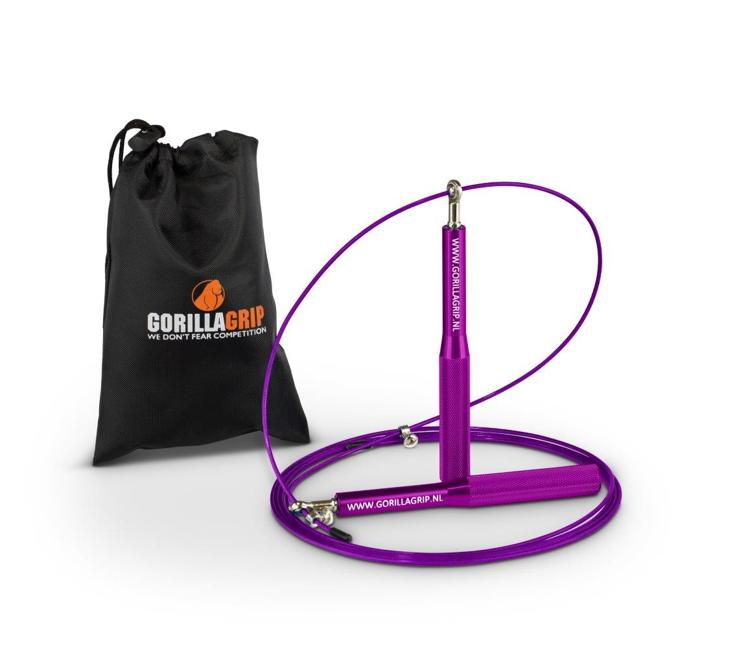 Aluminum Speed Jump Rope Purple