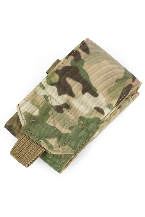 Mobile Phone Pouch Multi Camo