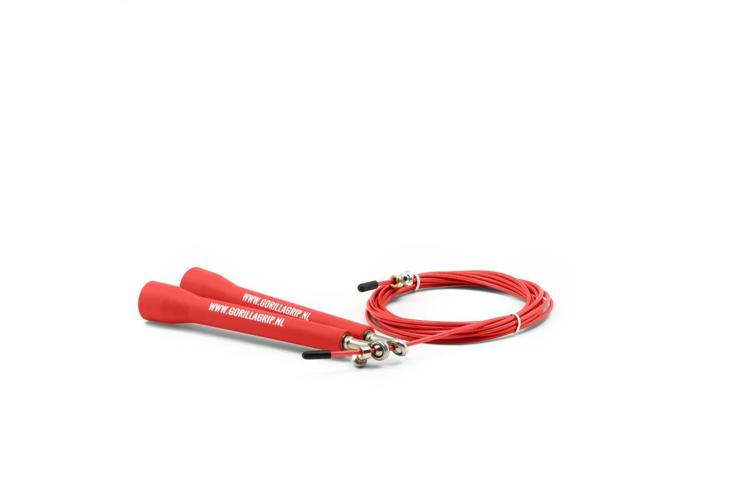 PVC Speed Jump Rope Red