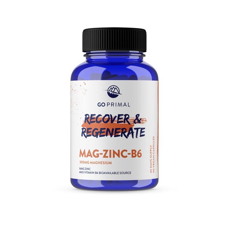 Magnesium, Zinc & B6 capsules
