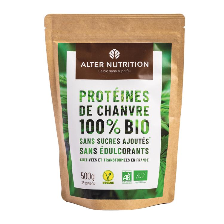 Biologische Vegan Hennep Proteïne