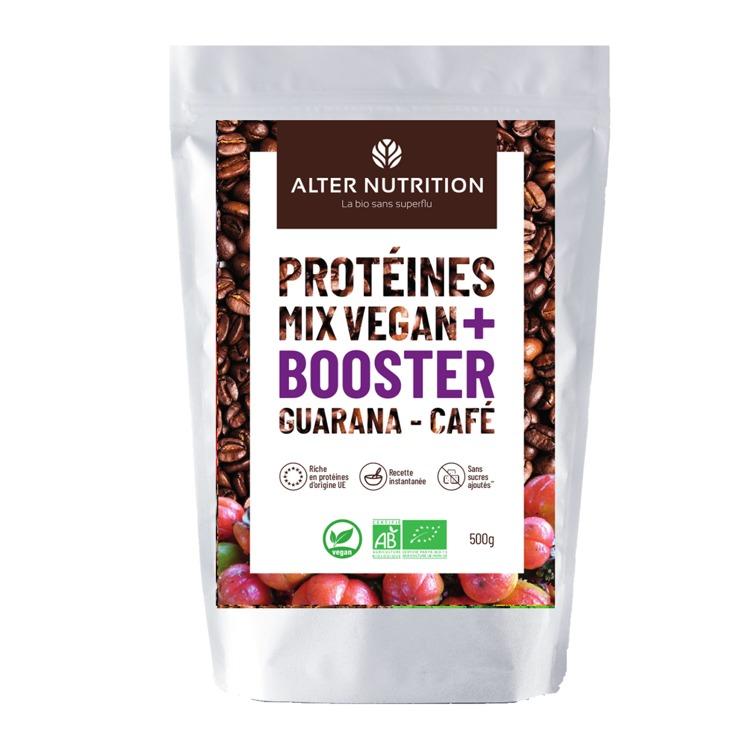 Bio Vegan Protein Mix Guarana - Coffee