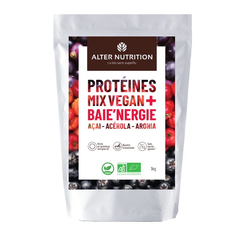 Bio Vegan Proteïne Mix Acai - Acerola - Ariona