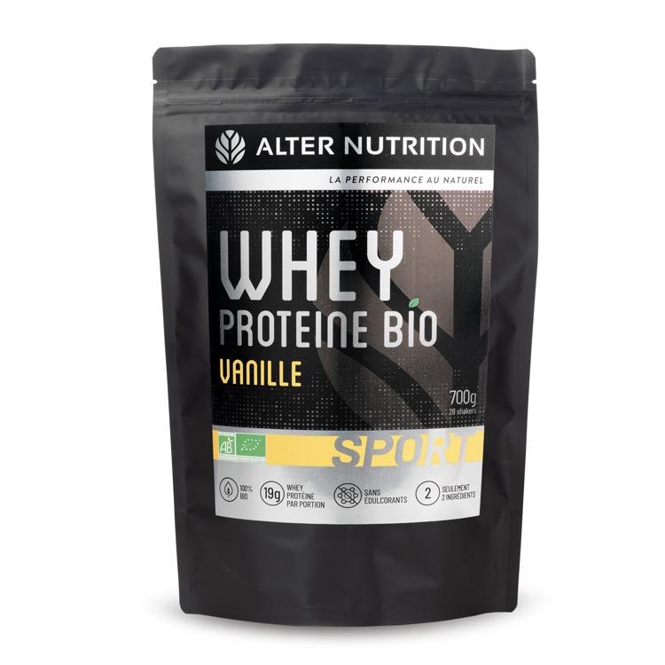 Bio Whey Proteïne Vanille