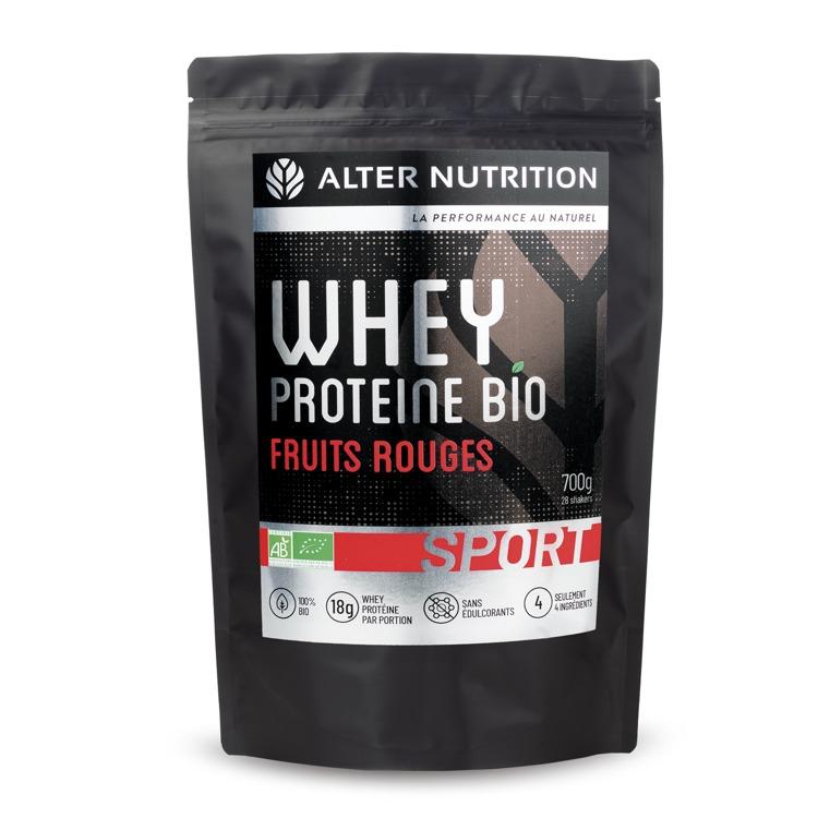 Bio Whey Proteïne Rood fruit