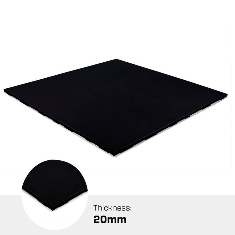 X-Connect Tile 20mm 100% black