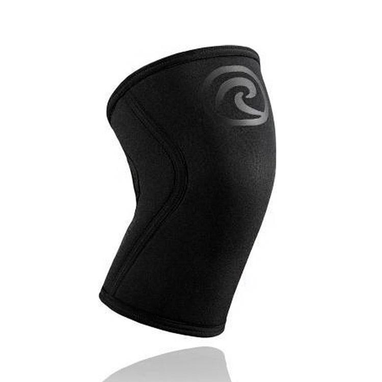 Rehband Rx Kniebrace Carbon Zwart 5mm Size S