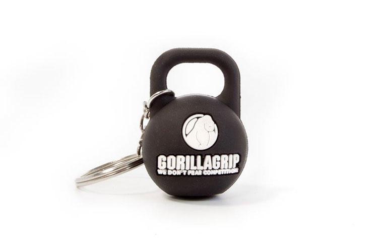 GorillaGrip keychain kettlebell