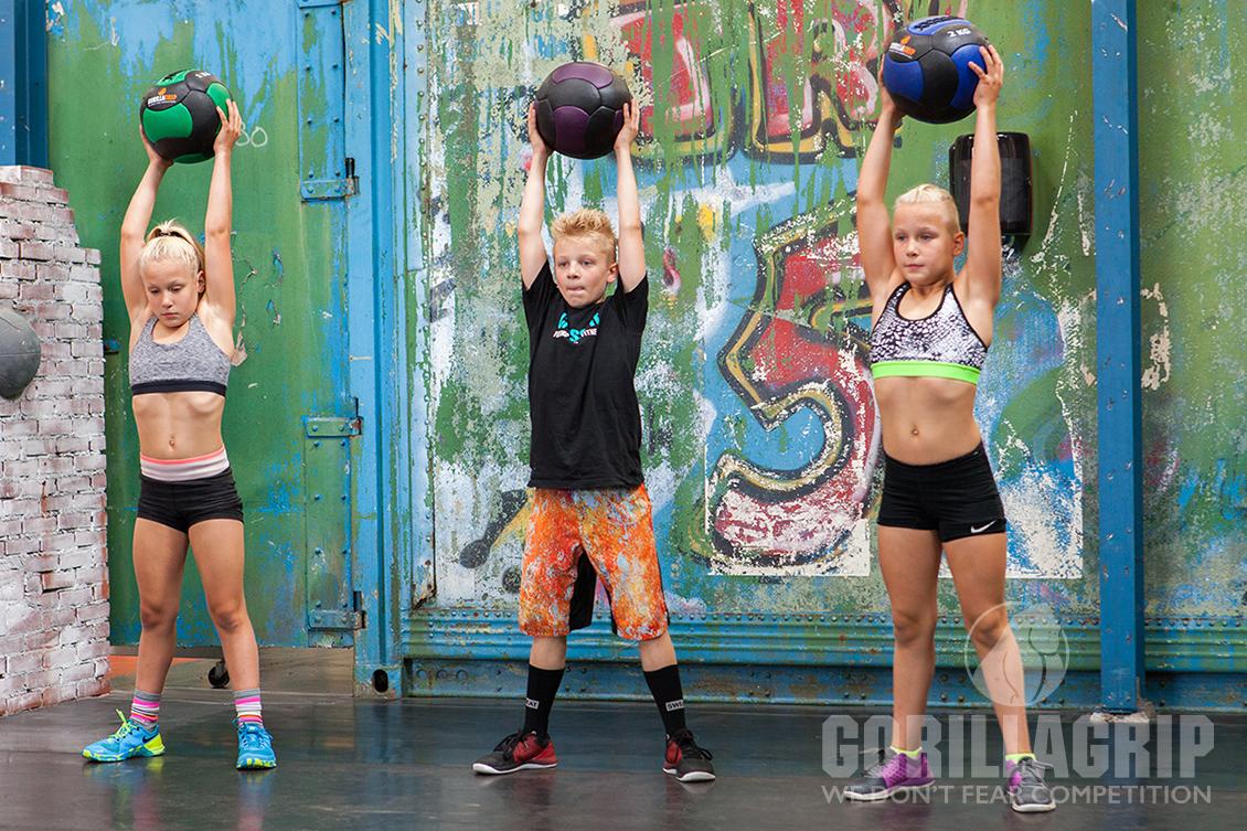 Medicine ball exercises for children | GorillaGrip